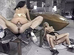 Greta Milos and Zenza Raggi having..