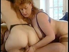 Sexy and horny mature German couple..