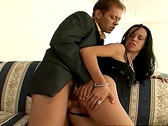 Rocco Siffredi has terrific anal sex..