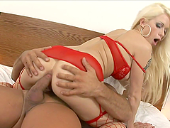 A Breath Taking Anal For A Sexy Blonde..