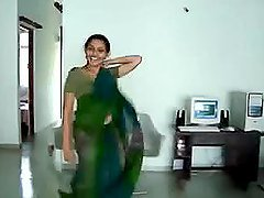 Cute Indian dancer gets so hot with..