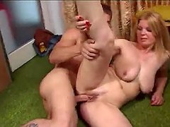Mature Hot Mom gets naked with her..