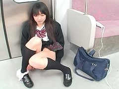 Nanami Honda the hot Schoolgirl gets..