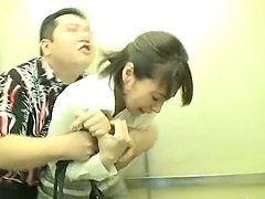 Japanese milf gets fucked hard in an..
