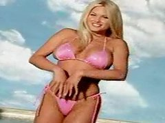 Suzanne Stokes the Playmate of the..
