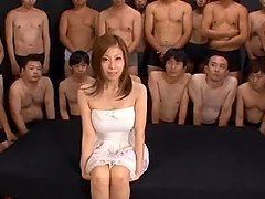 Japanese hottie Chihiro Akino fucks..