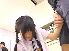 Schoolgirl Fucked In Public And Squirts On His Dick
