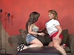 Mature Lesbian Gals Going At It.