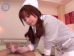Lovely nurse Hirono Imai changes your..