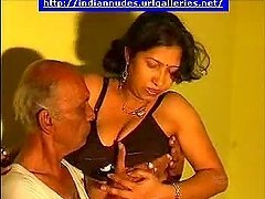 Nasty Indian milf is playing with an..