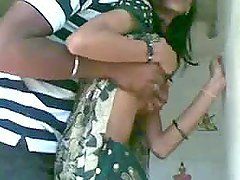Homemade video with Indian couple..