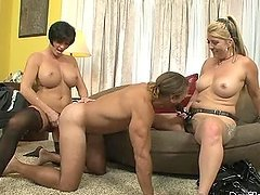 Dude Takes A Serious Pegging From Two..