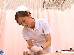 Pretty Japanese nurse Yuri Kasiwa..