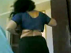 Homemade video with Indian girl..