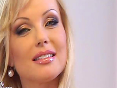 Mesmerizing Czech Blonde Beauty Silvia..