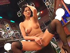 Smoking hot brunette babe Tera Joy..