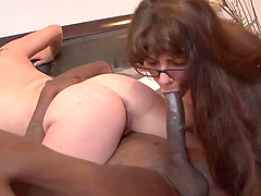 An Exhausting Threesome For Mom And..