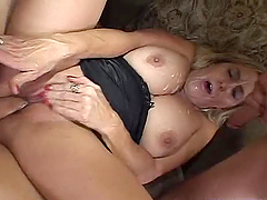Blond mild Wands Lust gets banged by a..