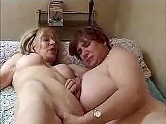 Two Grannies are enjoying that huge..