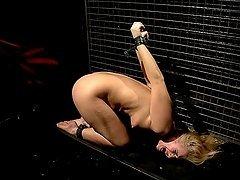 Katy Parker brings her slave Linda Ray..