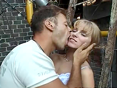 Claudia Jameson enjoys riding Rocco..