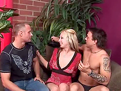 Crazy Pegging Action in MMF Threesome..