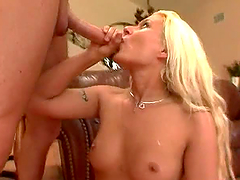 Cindy Crawford Swallowing Cum in..