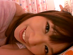 Hot POV video with pretty Japanese..