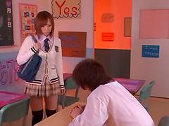 Precious babe Aino Kishi loves fucking..