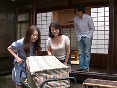 Slutty Japanese MILF gets pounded hard..