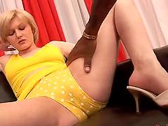 Big Black P.O.V with hot blonde loving..