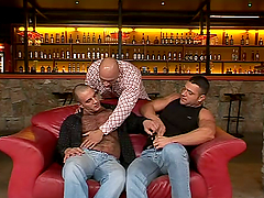 Hot Gay Threesome with Ripped Studs