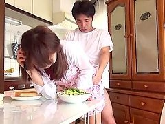 Asian hottie gets her pussy licked and..