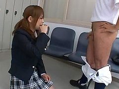 Teen Miku Airi Dreams Of Drinking A Baseball Player's Cum