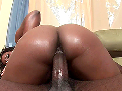 Ms. Platinum And Her Friend Ride A..