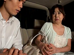 Hot Mature Japanese mature honey is a..