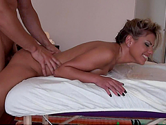 An Incredible Fuck For Aubrey Addams From Her Masseuse