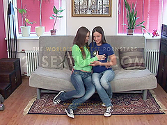 Anal Action with Lesbian Cuties
