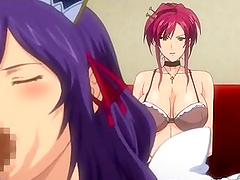 Hentai maids hot sucking shemale stiff cocks