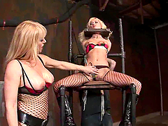A Hot Bondage Clip Ends In A Wild Orgy