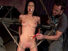 Amanda the new BDSM girl gets fucked..