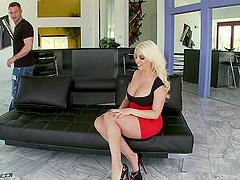 Footjob & Pussy Fucking
