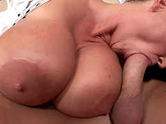 A Huge Cock For An Incredibly Busty..