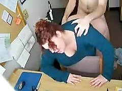 Redhead milf sucks a prick after..