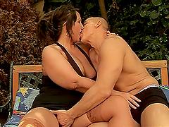 Busty BBW Sofi Getting Her Pussy..