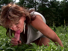 Hardcore Outdoor Fun with a Lustful..