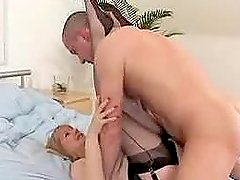 Fashionable mature in Nylons Fucks so..