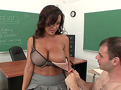 Ms. Ann Takes A Pounding From One Of..