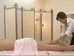 Hot massage woman gets fucked hard and..