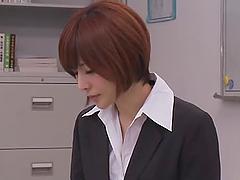 Slutty Yuria Satomi having hardcore..